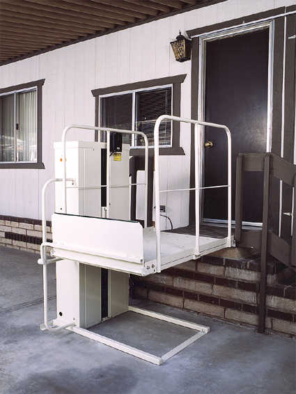 WHEELCHAIR ELEVATOR VERTICAL HOME LIFT auto