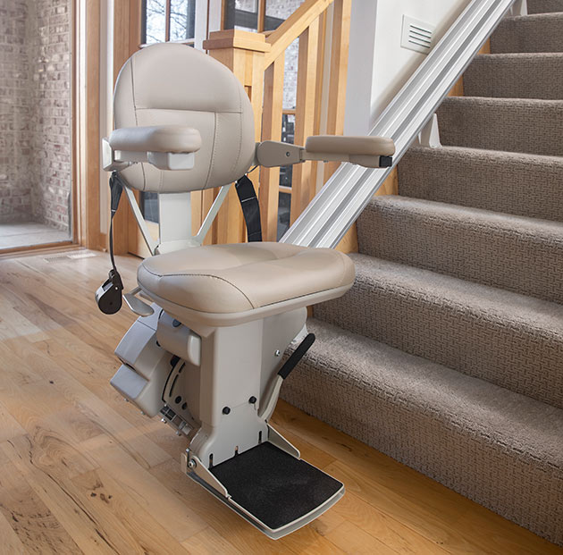 Phoenix indoor stairchair straight rail chairlift home residential stairlift