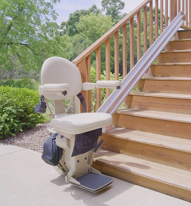 Phoenix Outdoor stairlift exterior chairlift outside chairstair