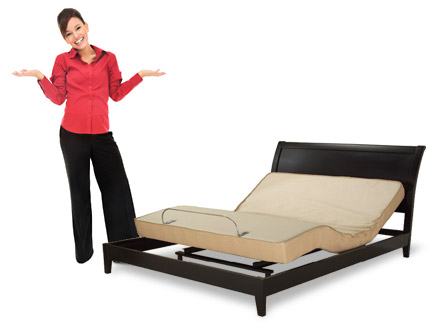 full adjustable bed mattress replacement phoenix regular double are power ergo adjustamatic by electropedic